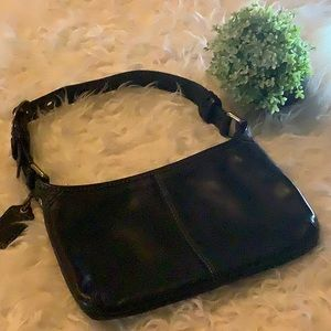 Coach - Black Leather - Hobo style good condition